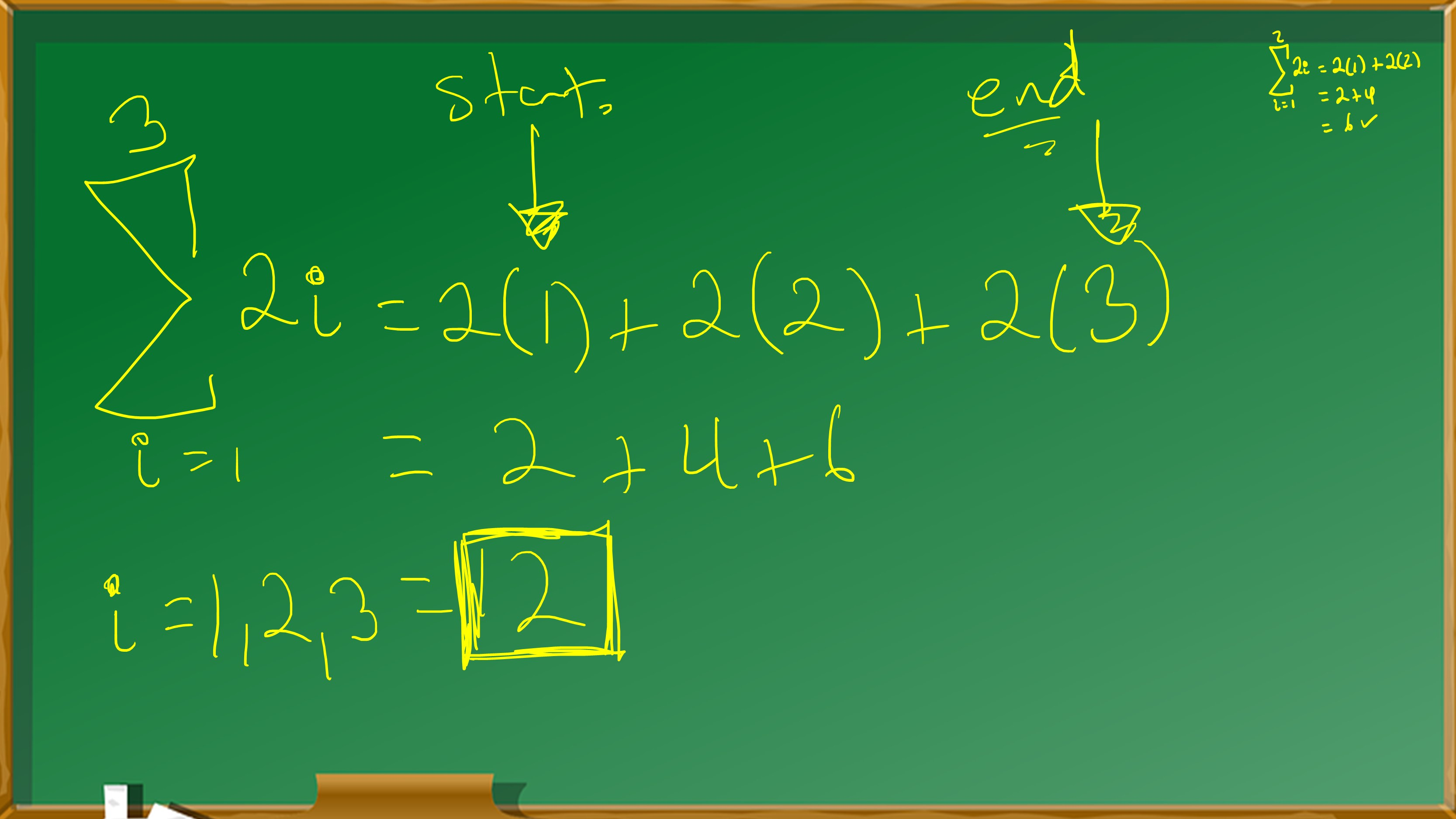 Sigma Notation Basics With Video Calculus Coaches